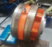 发电厂洗煤机内曲线马达NJM16维修